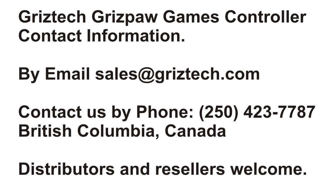 Contact Griztech
